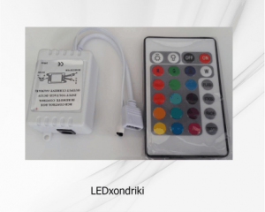 LED Controller με Dimmer RGB 16 κουμπιών