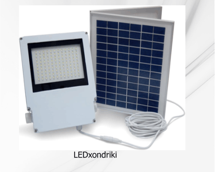 Ηλιακό φωτοκύτταρο κίνησης 50 LED
